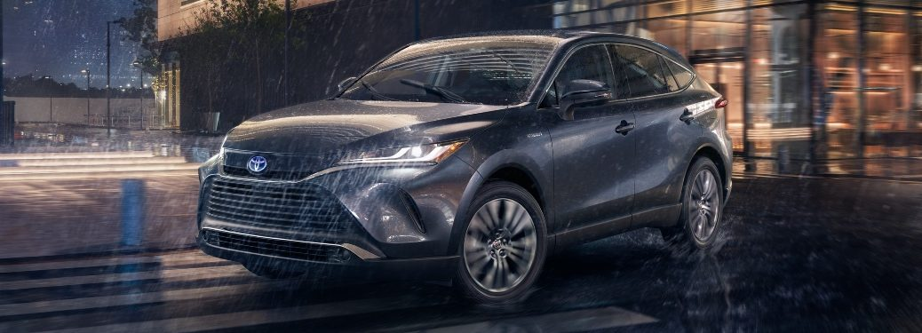 2021 Venza driving in the rain