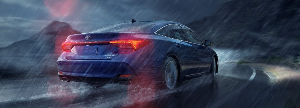 2021 Avalon driving in the rain