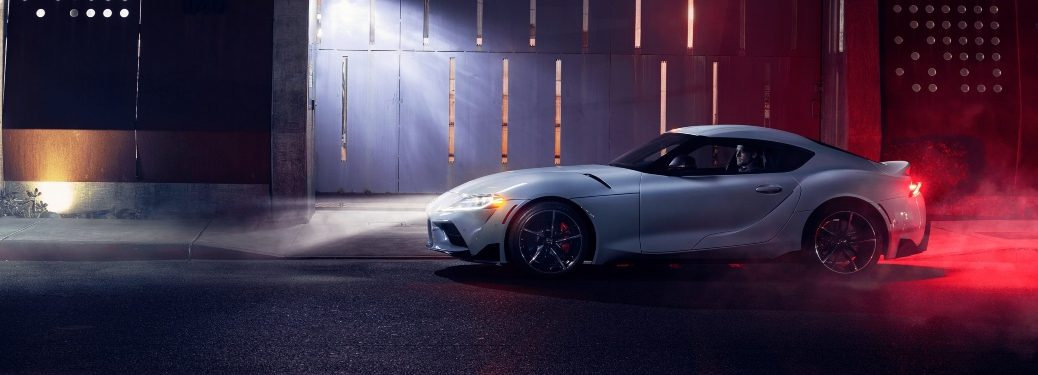 2021 Supra side profile