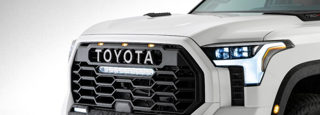 2022 Tundra partial view