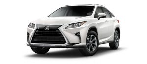 Eminent White Pearl Lexus RX 350.