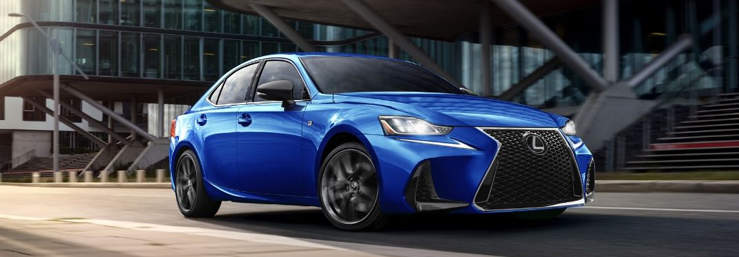 How Many Colors Does the 2020 Lexus IS Come In?