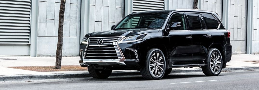 How Many Colors Are Available for the 2020 Lexus LX?