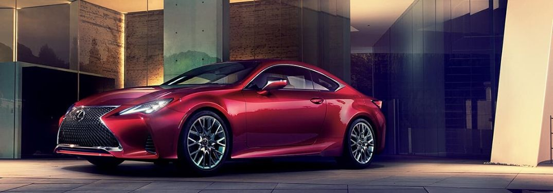 How Many Colors Is the 2020 Lexus RC Coupe Available In?