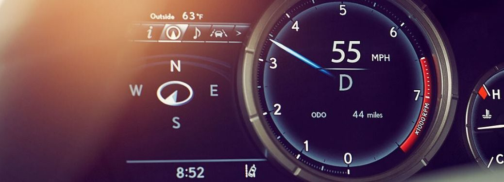 Close Up of 2020 Lexus RX Dashboard
