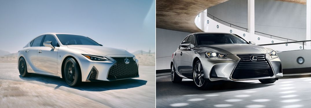 2021 Lexus IS vs 2020 Lexus IS: What Are the Differences?