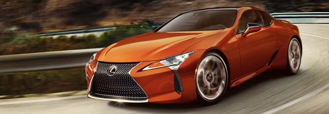 How Many Colors Are Available for the 2021 Lexus LC?