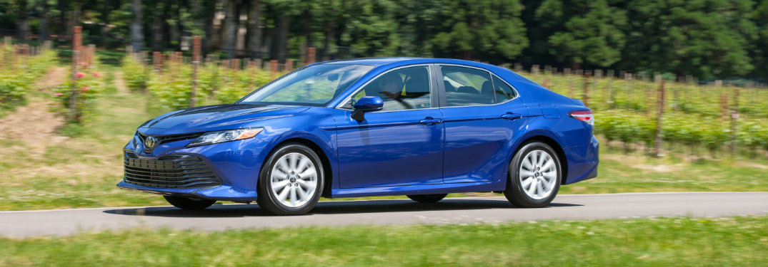 2020 Toyota Camry color options