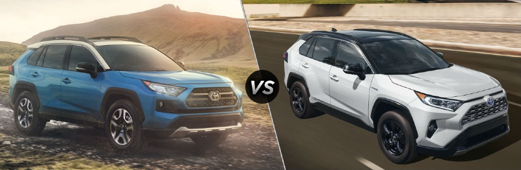 What are the Differences Between the 2020 Toyota RAV4 and RAV4 Hybrid?
