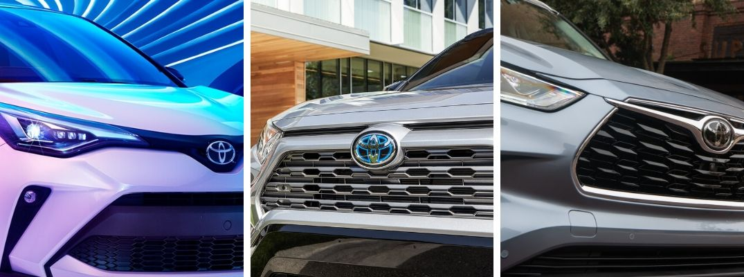 What are the Differences Between the Toyota C-HR, RAV4, and Highlander SUVs?