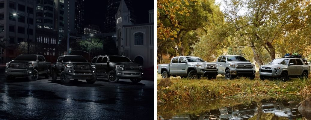 2021 Toyota Nightshade and Trail Special Edition models
