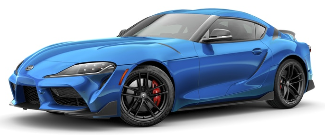 2021 Toyota GR Supra Refraction A91 Edition