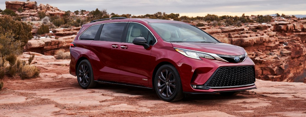 What's New with the 2021 Toyota Sienna Minivan?