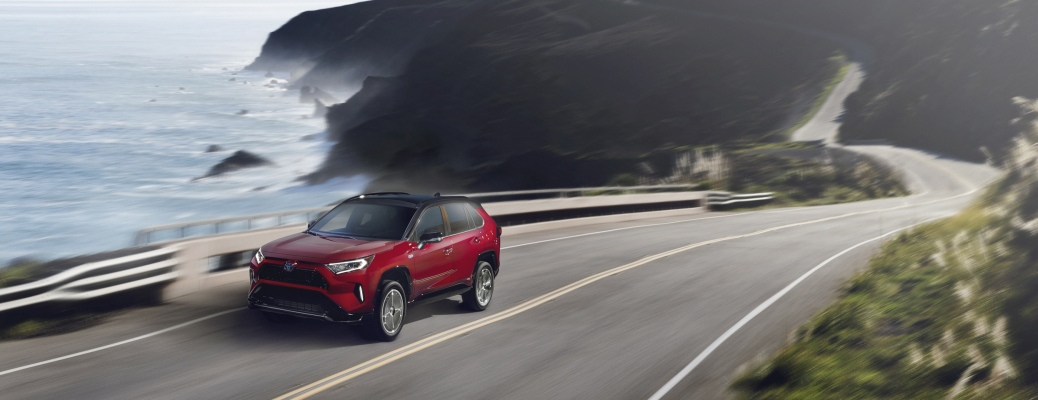 Explore the available options on the 2021 RAV4 Prime