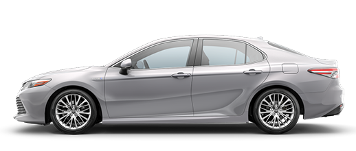 2020 Toyota Camry Hybrid Silver side view