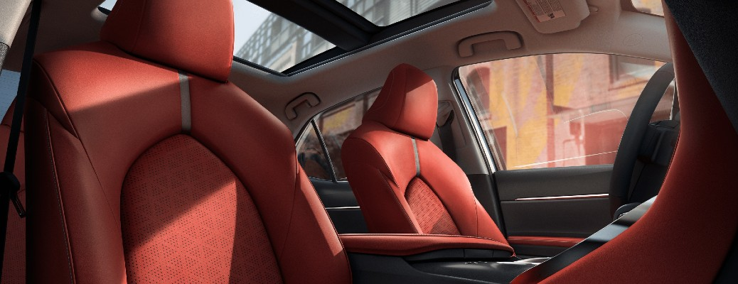 2021 Toyota Camry seating
