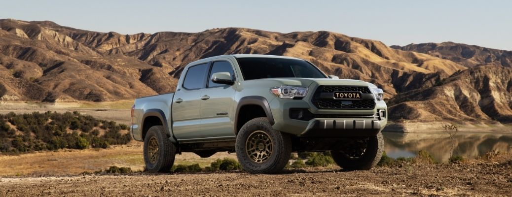 2022 Toyota Tacoma Front RIght-Quarter View