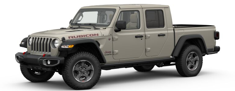 2020 Jeep Gladiator Gobi side view