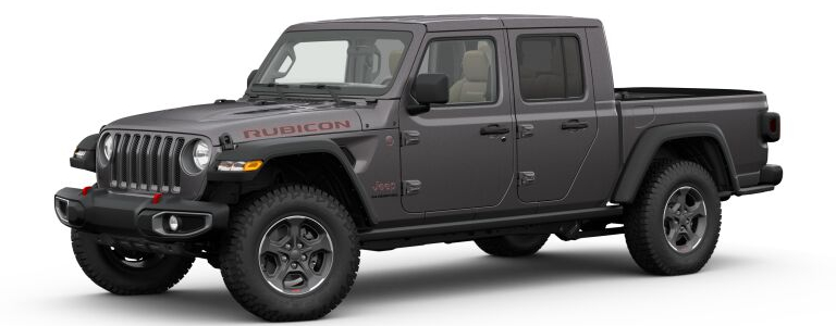 2020 Jeep Gladiator Granite Crystal Metallic side view