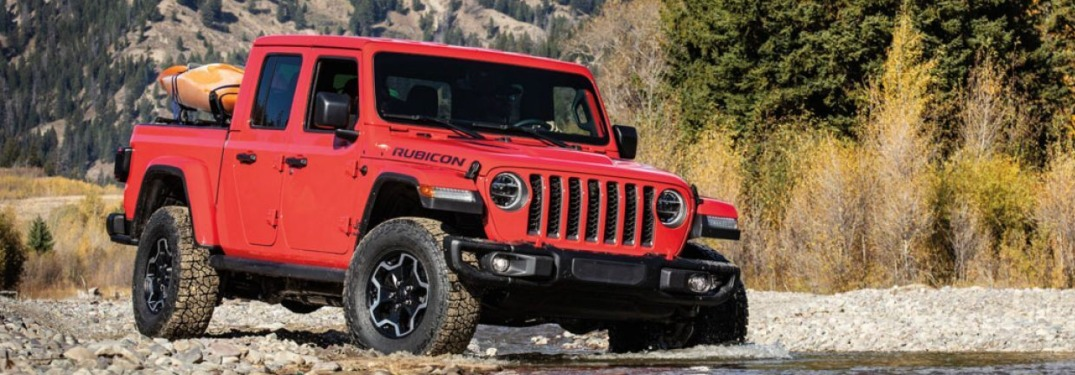 What does the Rubicon trim add to the Gladiator?