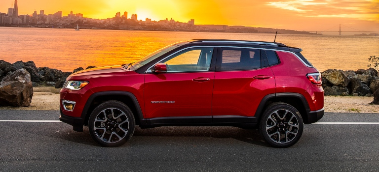 2020 Jeep Compass Redline Pearl side view