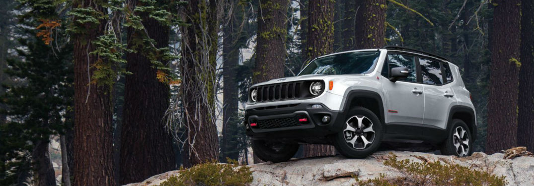 What are the 2020 Jeep Renegade off roading capabilities?