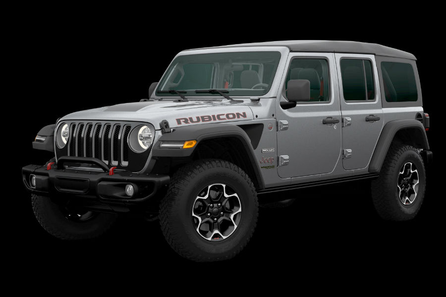 A photo of the 2020 Jeep Wrangler Rubicon Recon.
