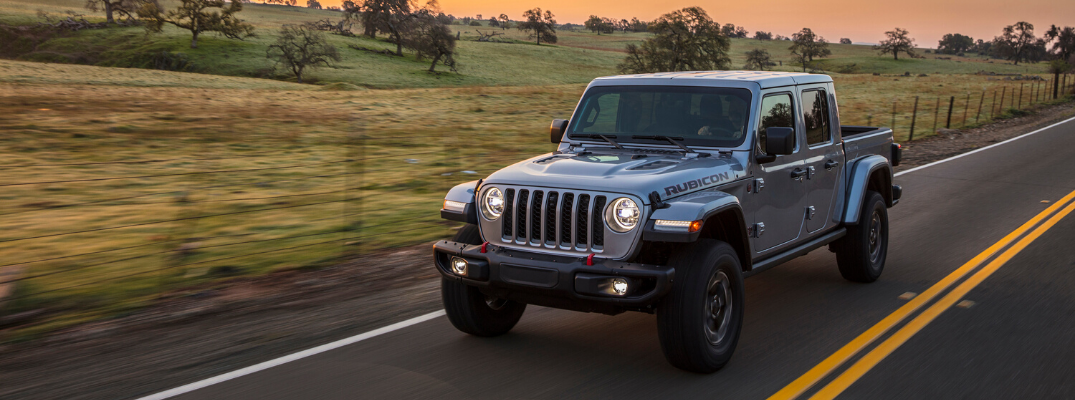 Save Fuel with the Stop/Start Technology in the 2020 Jeep Gladiator