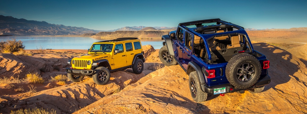 Add a Splash of Color to the 2020 Jeep Wrangler