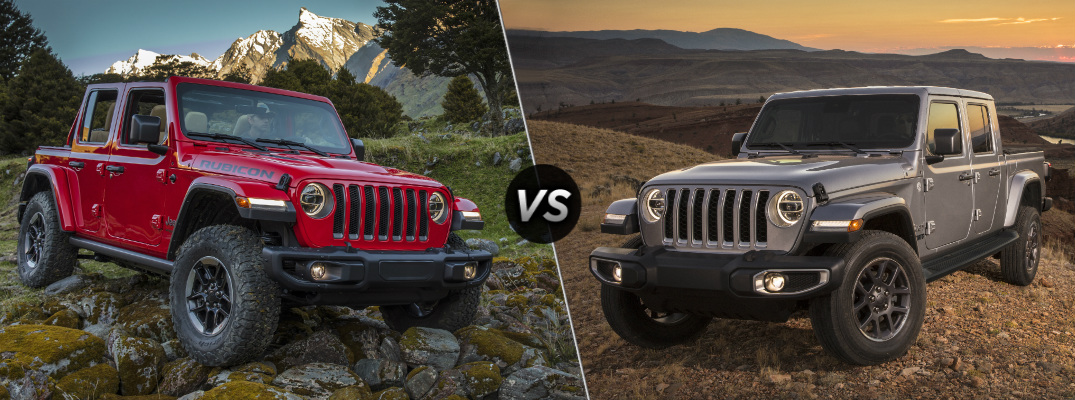 What Are the Differences Between the Jeep Wrangler and the Jeep Gladiator?