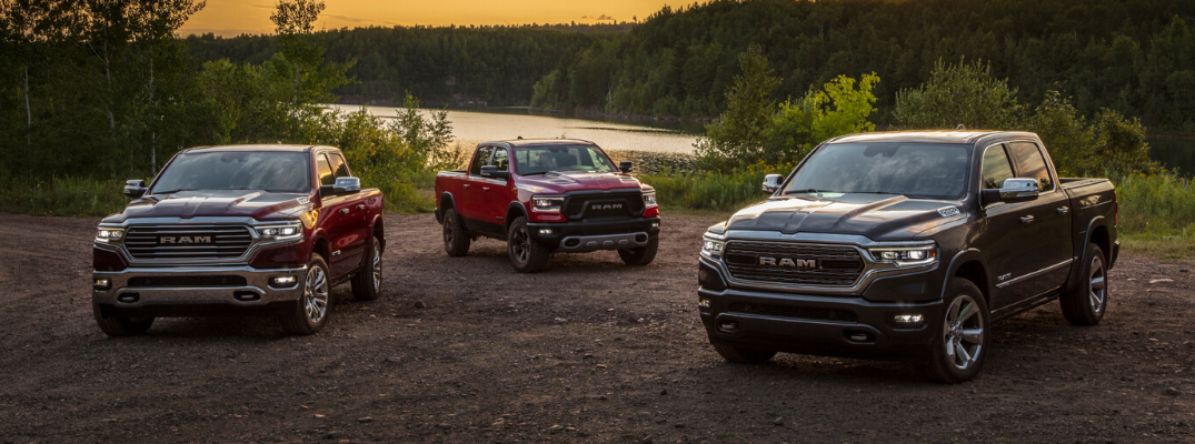 What Are the Differences Between the 2020 Ram 1500 Trims?