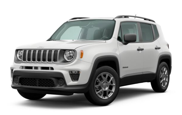 2020 Jeep Renegade in Alpine White