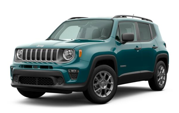 2020 Jeep Renegade in Bikini Metallic