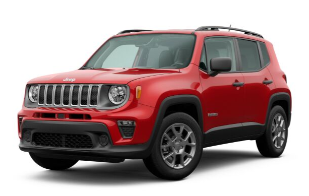 2020 Jeep Renegade in Colorado Red