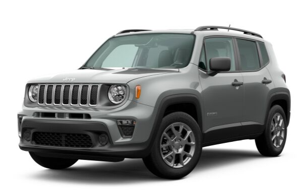 2020 Jeep Renegade in Glacier Metallic