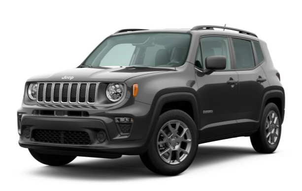 2020 Jeep Renegade in Granite Crystal Metallic