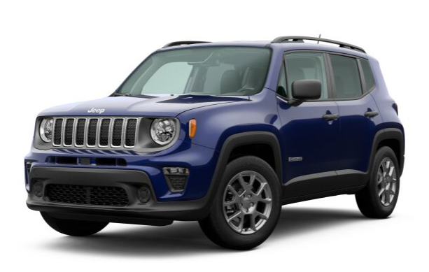2020 Jeep Renegade in Jetset Blue