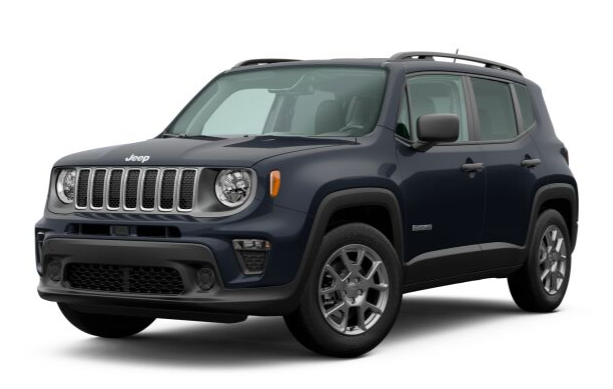 2020 Jeep Renegade in Slate Blue