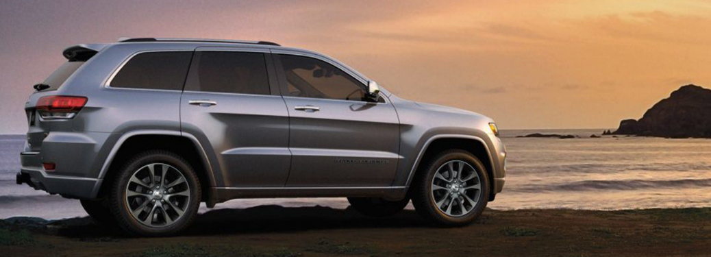 2019 Jeep Grand Cherokee parked by the shore