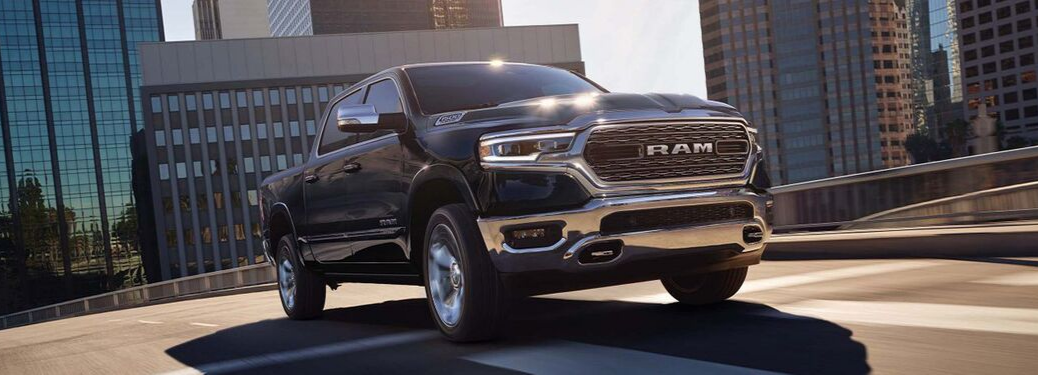 2019 RAM 1500 parked outside