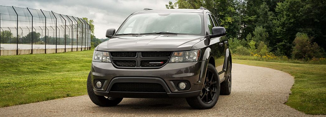 2019 Dodge Journey parked outside on path