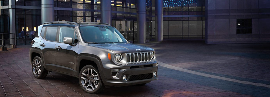 2019 Jeep Renegade Parked outside