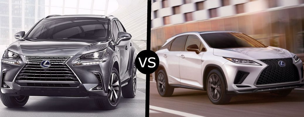 Lexus Nx Vs Rx >> What Is The Difference Between The 2020 Lexus Nx Hybrid And