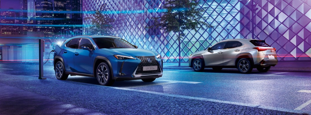 Lexus debuts first all-electric vehicle