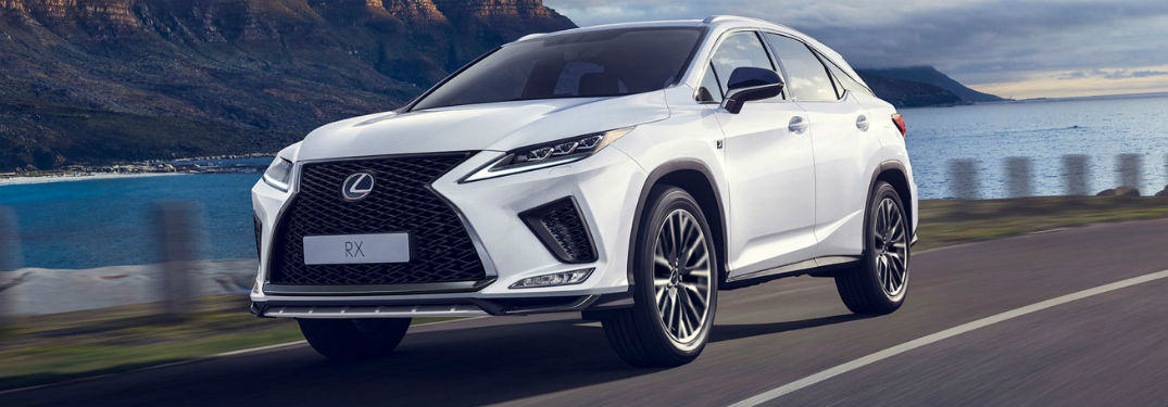 What colors does the 2020 Lexus RX come in?