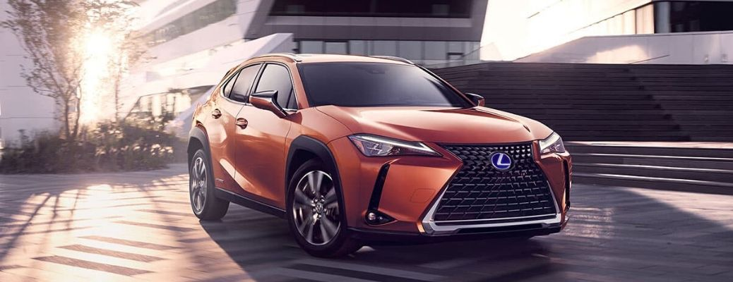 2020 Lexus UX H from the exterior front