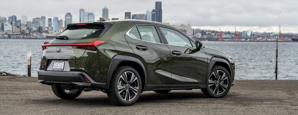 2020 Lexus UX from exterior rear passenger side