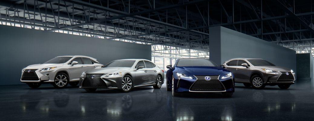 2019 Lexus model lineup