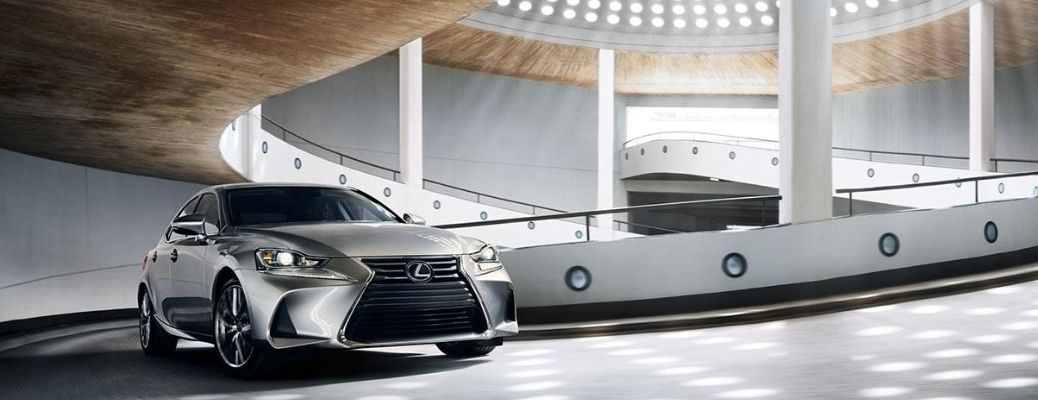 2020 Lexus IS exterior front view driving