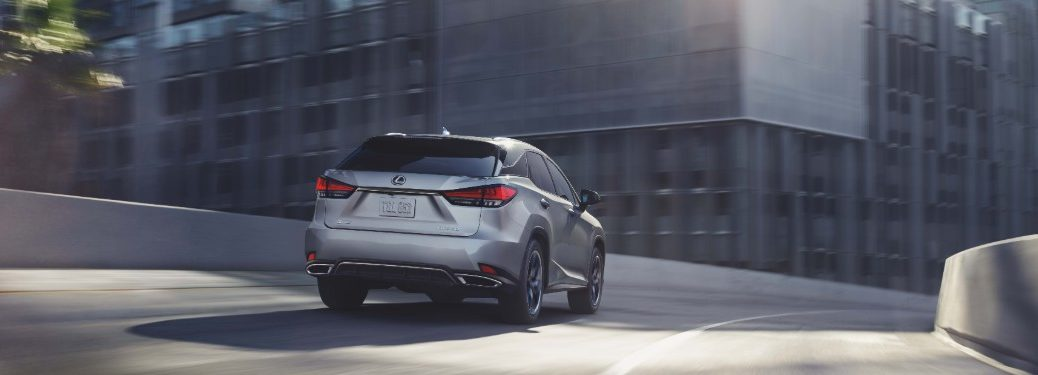 2021 Lexus RX from exterior rear